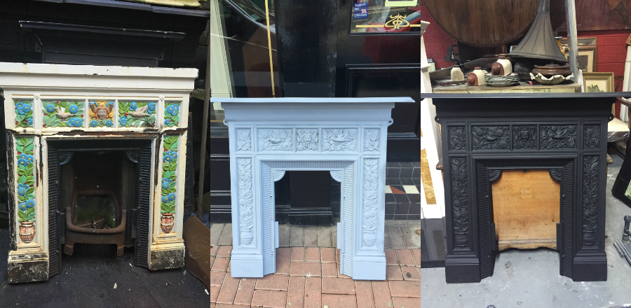 Antique Marble Fireplace Restoration Fireplaces